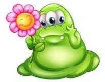 Troskliwy greenslime potwór Zdjęcia Royalty Free