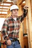troskliwy pracowników budowlanych Zdjęcia Stock