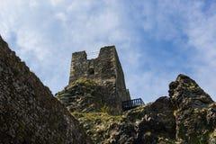 Trosky Castle. The Trosky Castle, Czech Republic stock image