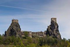 Trosky Castle. The Trosky Castle, Czech Republic royalty free stock images