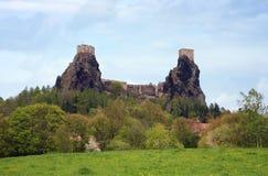 Trosky castle in Czech Republic Royalty Free Stock Image