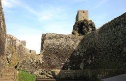Trosky castle in Czech Republic Stock Images
