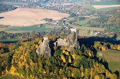 Trosky castle - fly photo Stock Photo