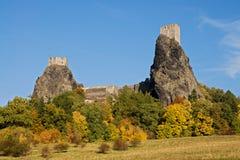 Trosky castle Stock Photo