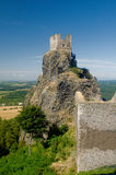 Trosky castle Stock Images