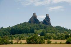 Trosky castle Royalty Free Stock Photo