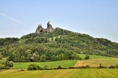 Trosky castle Stock Photography