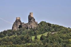 Trosky castle Royalty Free Stock Photography