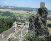Trosky Castle Ruin Royalty Free Stock Image
