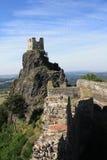 Trosky ruins Czech republic Royalty Free Stock Image