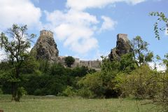 Trosky ruiny Zdjęcia Stock