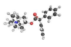 Trospium氯化物,用于对待过度活化的膀胱 它不 库存照片