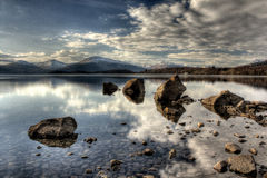 Trossachs, Loch Lomond Photographie stock libre de droits
