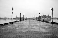 Trostloser Pier Stockbilder