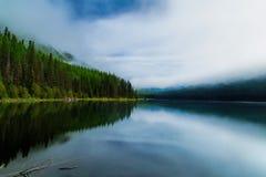 Troszeczkę pogoda Nad Stanton jeziorem zdjęcie stock