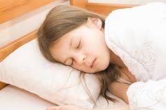 Troszkę śpi dziewczyna Obraz Stock