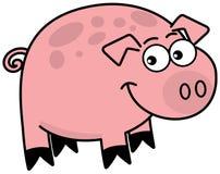 Troszkę świnia profil Obraz Royalty Free