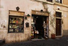 Troszkę księgarnia w Rzym zdjęcia stock