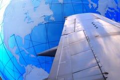 Trotón del globo Imagenes de archivo