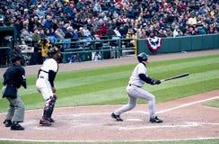 Trot Nixon, Boston Red Sox. Boston Red Sox rightfielder Trot Nixon. Image taken from color negative Stock Photo