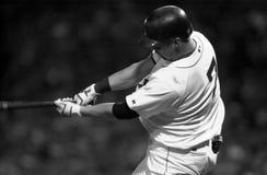 Trot Nixon. Boston Red Sox OF Trot Nixon.   Image taken from a B&W negative Royalty Free Stock Photos
