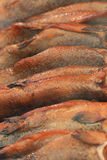 Trota affumicata calda del pesce fotografie stock libere da diritti