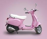 'trotinette' cor-de-rosa imagens de stock royalty free