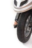 'trotinette' da roda dianteira imagem de stock