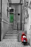 'trotinette' italiano em Roma Foto de Stock Royalty Free