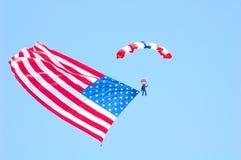 Trots om een Amerikaan te zijn. Royalty-vrije Stock Foto