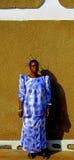Trotse Afrikaanse vrouw, DRC Royalty-vrije Stock Fotografie