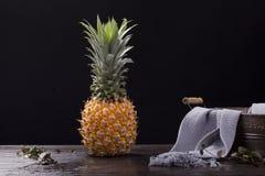 Trotse ananas royalty-vrije stock afbeeldingen