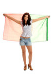Trotse Portugese Dame Stock Fotografie