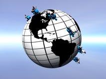 trotter globus Fotografia Royalty Free