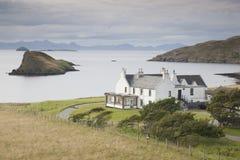 Trotternish, Skye小岛,苏格兰 免版税图库摄影