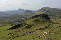 Trotternish kant, ö av Skye, Skottland Royaltyfri Fotografi