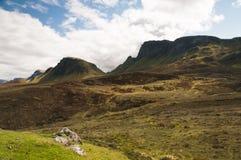 Trotternish Ridge Imagen de archivo libre de regalías