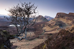 Trotternish ridge Stock Image