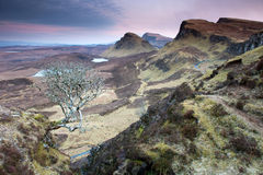 Trotternish ridge Stock Photography