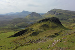 Trotternish ridge, Isle of Skye, Scotland Royalty Free Stock Photography