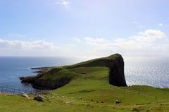 trotternish skye Шотландии зиги острова стоковые изображения rf