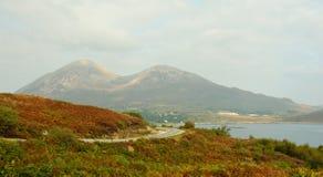 trotternish skye Шотландии зиги острова Стоковое фото RF