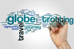 Trotting σύννεφο λέξης σφαιρών Στοκ εικόνα με δικαίωμα ελεύθερης χρήσης