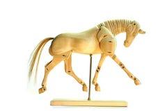Trotto del mannequin del cavallo Immagini Stock Libere da Diritti