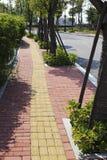 trottoar fotografering för bildbyråer