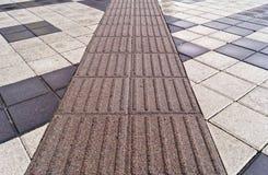 trottoar Royaltyfria Foton