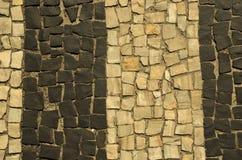 Trottoar av Rio de Janeiro Fotografering för Bildbyråer