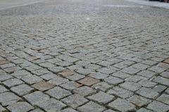 Trottoar för förberedande sten Royaltyfri Foto