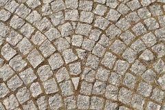 trottoarstenläggning Royaltyfri Fotografi