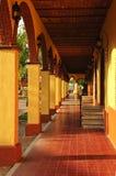 Trottoir dans Tlaquepaque, Guadalajara, Mexique photographie stock